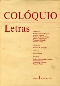 Colóquio/Letras n.º 1