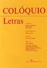 Colóquio/Letras n.º 9