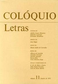 Colóquio/Letras n.º 11