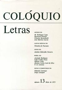Colóquio/Letras n.º 13