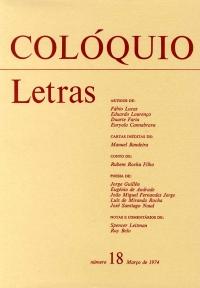 Colóquio/Letras n.º 18