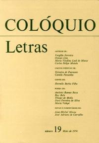 Colóquio/Letras n.º 19