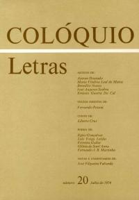 Colóquio/Letras n.º 20