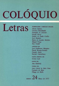 Colóquio/Letras n.º 24