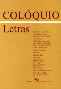 Colóquio/Letras n.º 29