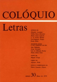 Colóquio/Letras n.º 30
