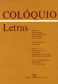 Colóquio/Letras n.º 32