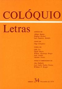 Colóquio/Letras n.º 34