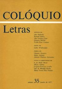 Colóquio/Letras n.º 35