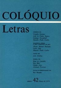 Colóquio/Letras n.º 42