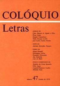 Colóquio/Letras n.º 47