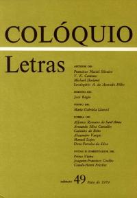 Colóquio/Letras n.º 49