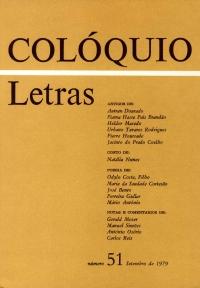 Colóquio/Letras n.º 51