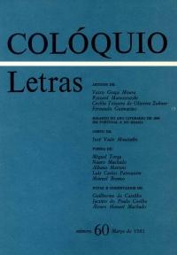 Colóquio/Letras n.º 60