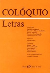 Colóquio/Letras n.º 68
