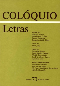 Colóquio/Letras n.º 73
