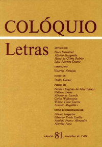 Colóquio/Letras n.º 81
