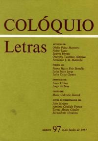 Colóquio/Letras n.º 97