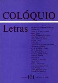 Colóquio/Letras n.º 101
