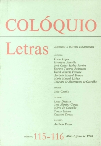 Colóquio/Letras n.º 115/116