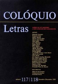 Colóquio/Letras n.º 117/118