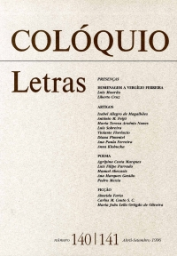 Colóquio/Letras n.º 140/141
