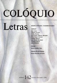 Colóquio/Letras n.º 142