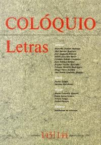 Colóquio/Letras n.º 143/144