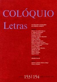 Colóquio/Letras n.º 153/154