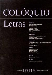 Col�quio/Letras n.º 155/156