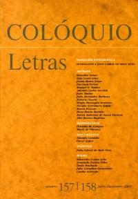Colóquio/Letras n.º 157/158