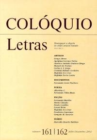 Colóquio/Letras n.º 161/162