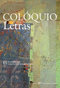 Colóquio/Letras n.º 187