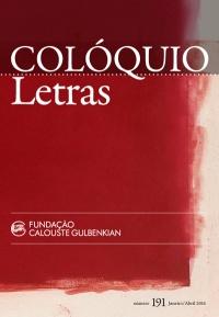 Colóquio/Letras n.º 191