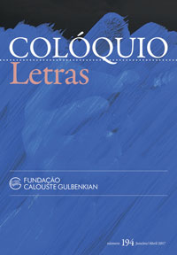 Colóquio/Letras n.º 194