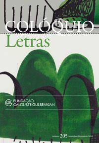 Colóquio/Letras n.º 205
