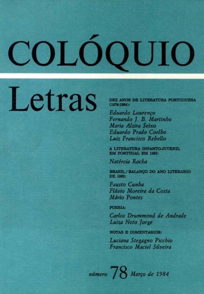 Colóquio/Letras n.º 78