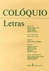 Colóquio/Letras n.º 5