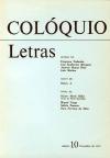 Colóquio/Letras n.º 10