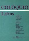 Colóquio/Letras n.º 28