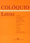 Colóquio/Letras n.º 38