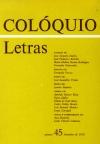 Colóquio/Letras n.º 45