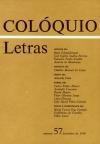 Colóquio/Letras n.º 57