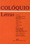 Colóquio/Letras n.º 59