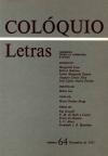 Colóquio/Letras n.º 64