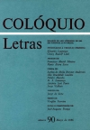 Colóquio/Letras n.º 90