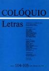 Colóquio/Letras n.º 104/105