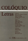 Colóquio/Letras n.º 106