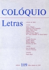 Colóquio/Letras n.º 109