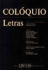 Colóquio/Letras n.º 129/130